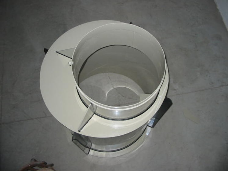 Kruhová podzemná vodomerná šachta